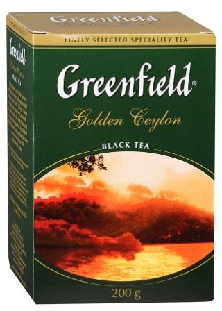 Гринфилд Голден Цейлон черный 200/10 Чай