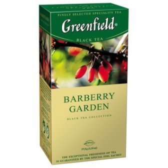 Гринфилд Барбери Гарден, 25*1,5г/10 Чай