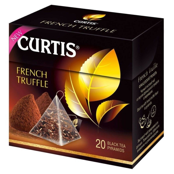 чай Curtis French Truffle Tea, пирам 20*1,8г/12